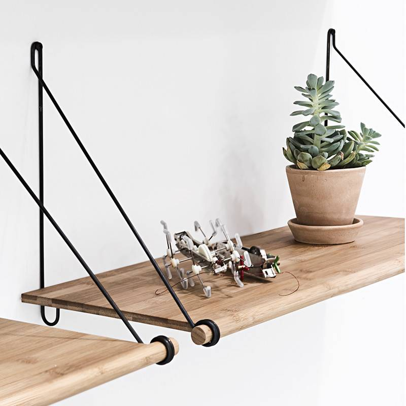 We Do Wood Etagère Loop Shelf