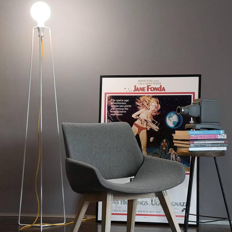 Grupaproducts Vloerlamp Model3 wit