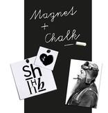 Groovy Magnets Papier peint magnétique 'tableau noir' Classic