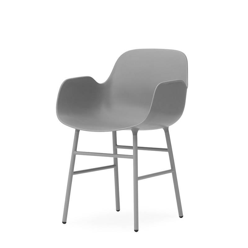Normann Copenhagen Form Armchair Acier