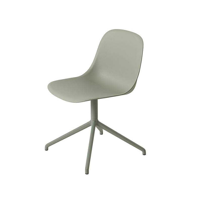 Muuto Fiber Side Chair dessous pivotant
