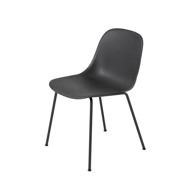 Muuto Fiber Side Chair pieds tube