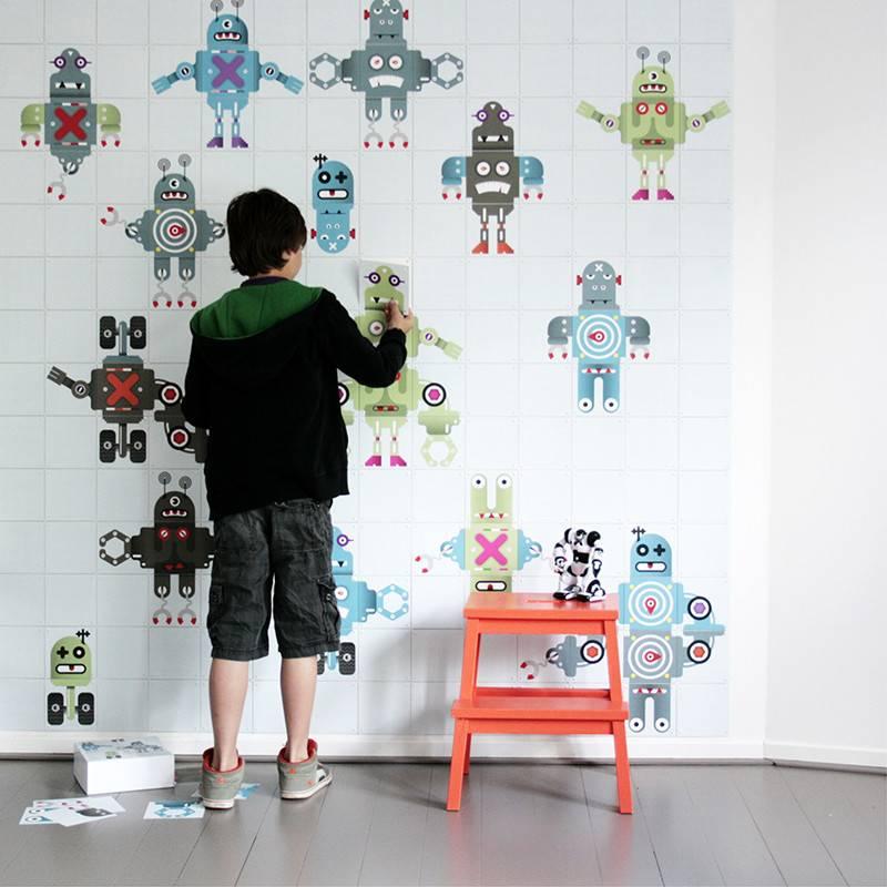 IXXI Wanddecoratie Robot