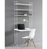 String Wandrek met bureau Small wit