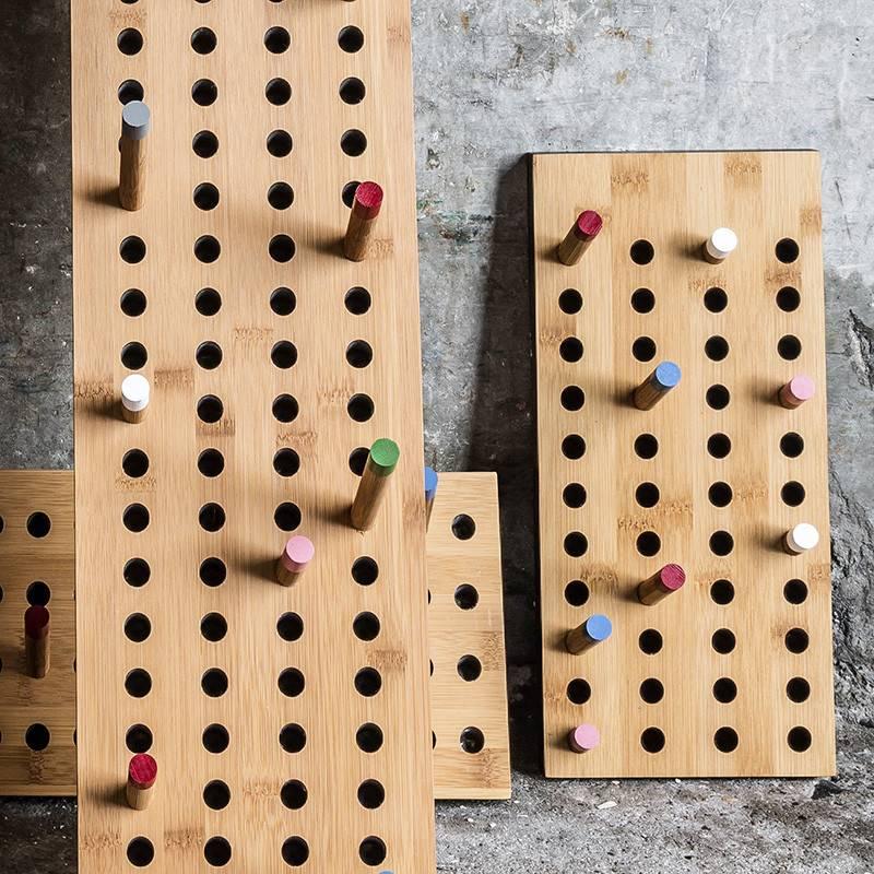 We Do Wood Porte-manteau Scoreboard S