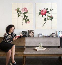 IXXI Wanddecoratie Two Flowers
