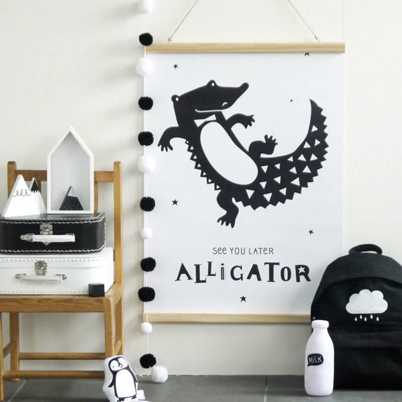 A Little Lovely Company Poster hanger