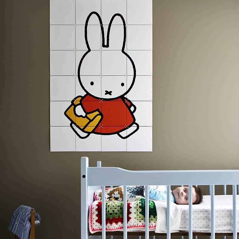 IXXI Wanddecoratie Nijntje naar school