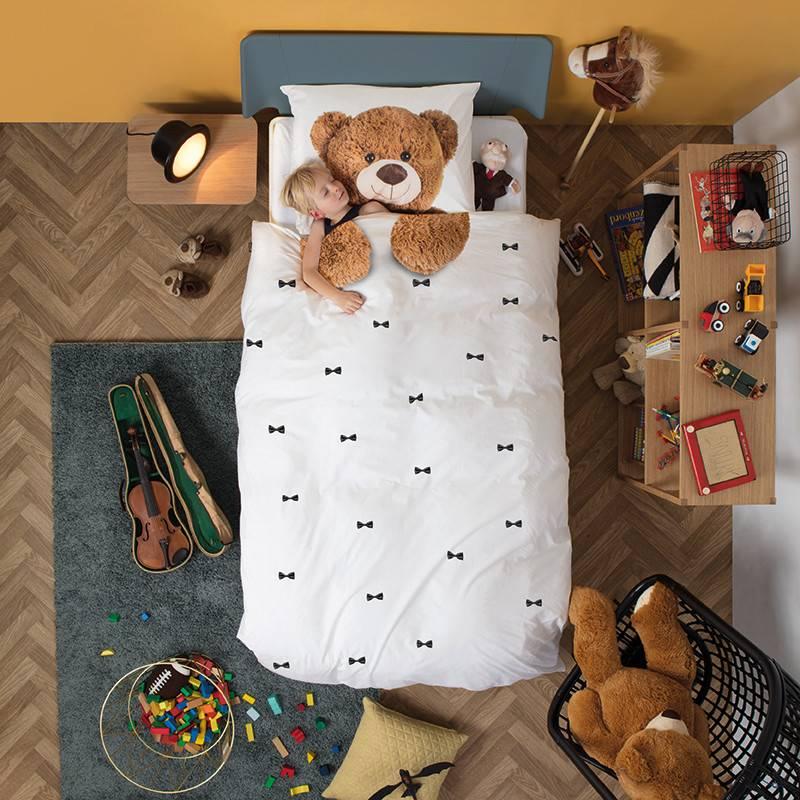 SNURK beddengoed Teddy dekbedovertrek