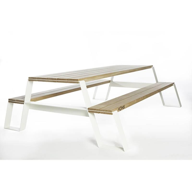 Vonk Fuse Table à pique-nique (blanc)