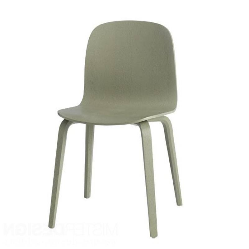 Muuto Visu Chair houten onderstel