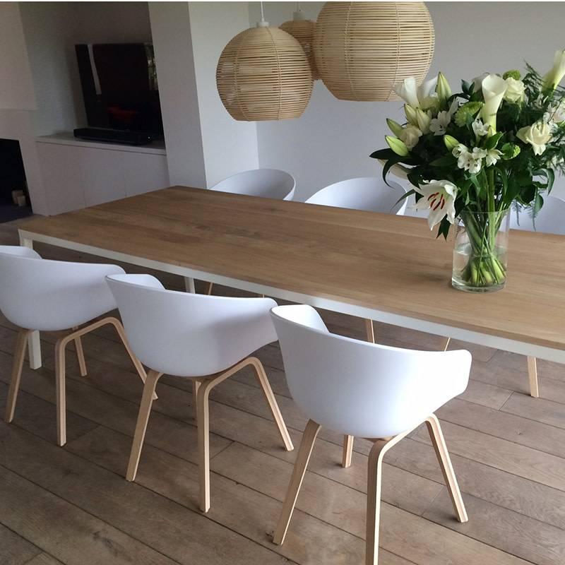 Opsmuk Table chêne (blanc)