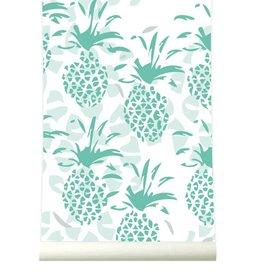 Roomblush Behang Ananas