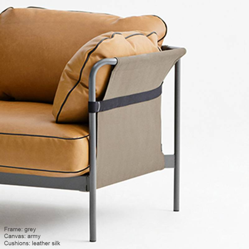 HAY CAN Fauteuil Cuir 1p