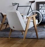 366 Concept 366 Armchair Tweed - Hout in foto's is naturel eik!