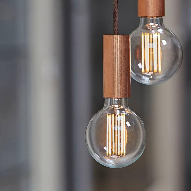 NUD Collection Tube Aqua lampe suspendue