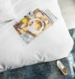 SNURK beddengoed Ontbijt dekbedovertrek 2p