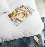SNURK beddengoed Ontbijt dekbedovertrek