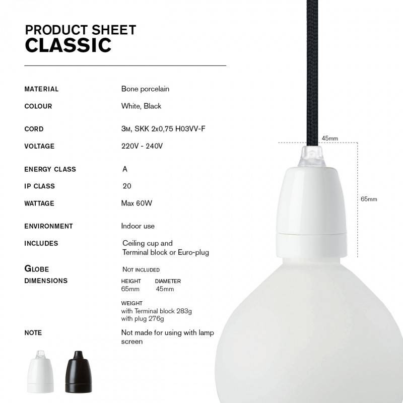 NUD Collection Classic blanc-noir