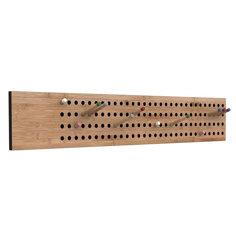 We Do Wood Porte-manteau Scoreboard L horizontale