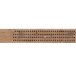 We Do Wood Scoreboard kapstok L horizontaal