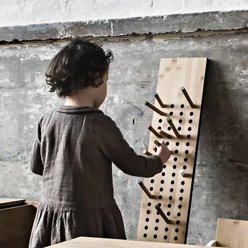 We Do Wood Scoreboard kapstok L verticale