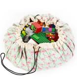 Play&Go Flamant  Sac de jouets - tapis de jeu