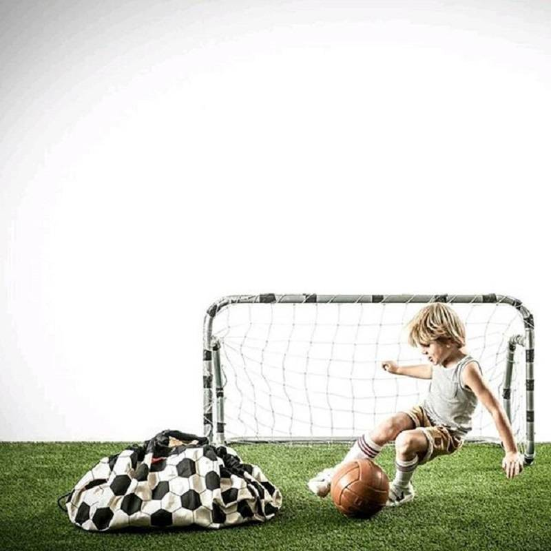 Play&Go Voetbal Opbergzak- speeltapijt