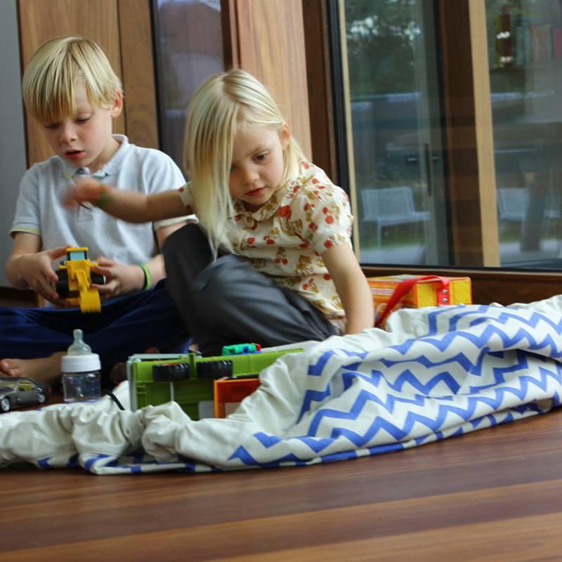 Play&Go Zigzag Opbergzak/ speeltapijt