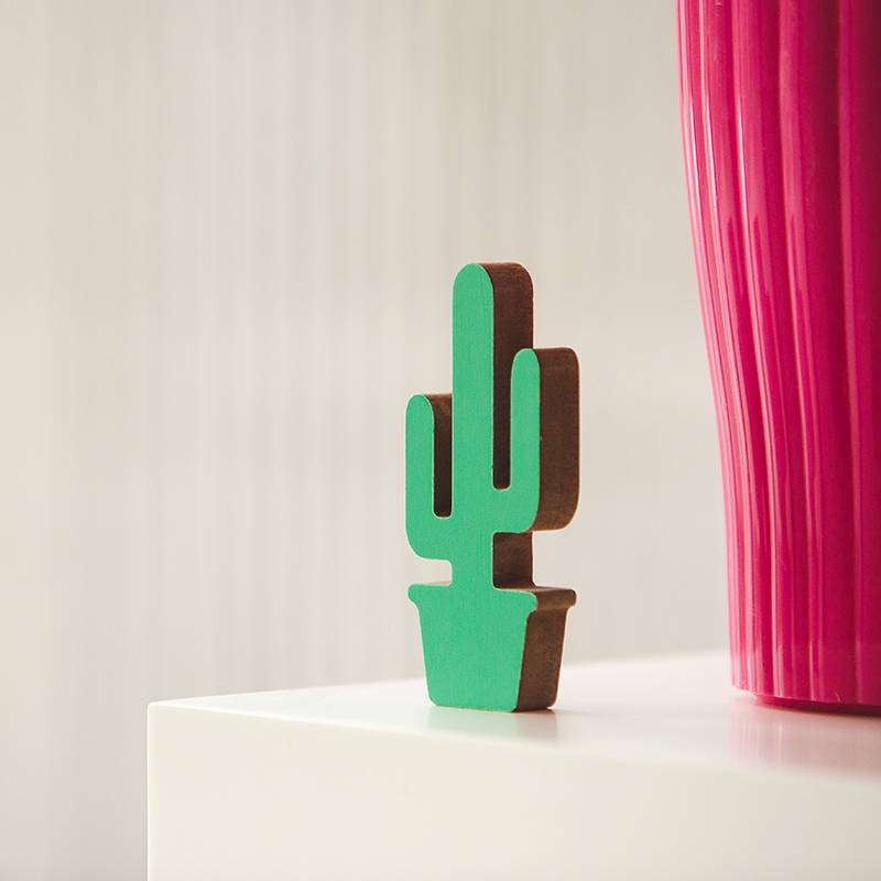 Atelier Pierre Cactus vert