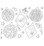 OMY Placemats à colorier Noël