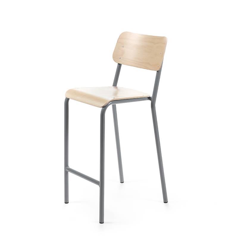 Declercq Mobilier ML 68 chaise de bar hêtre
