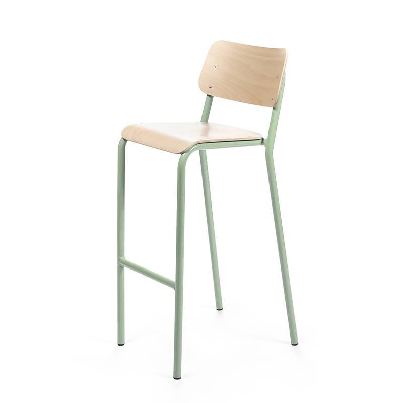 Declercq Mobilier ML 78 chaise de bar hêtre