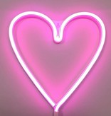 A Little Lovely Company Neon light Heart
