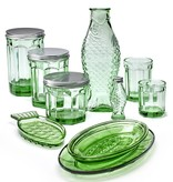 Serax Drinkglas M Fish&Fish transparant groen