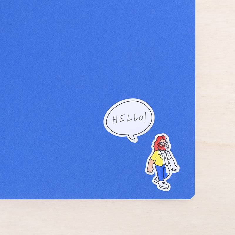 OMY Pochettes stickers