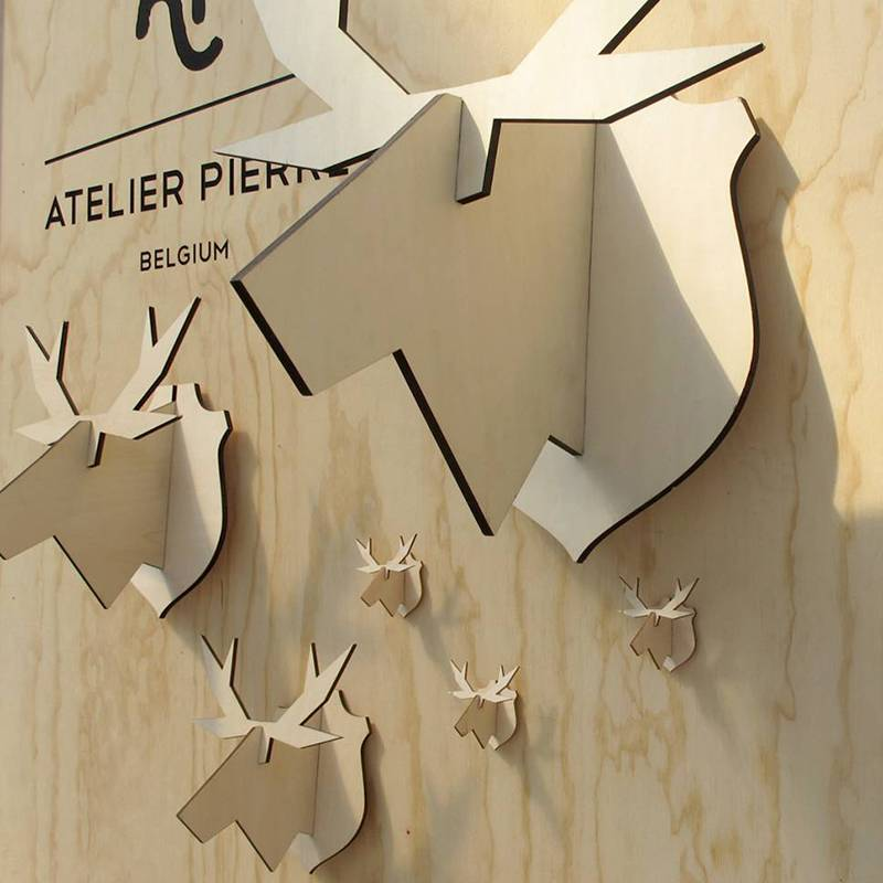 Atelier Pierre noRdic Moose murale