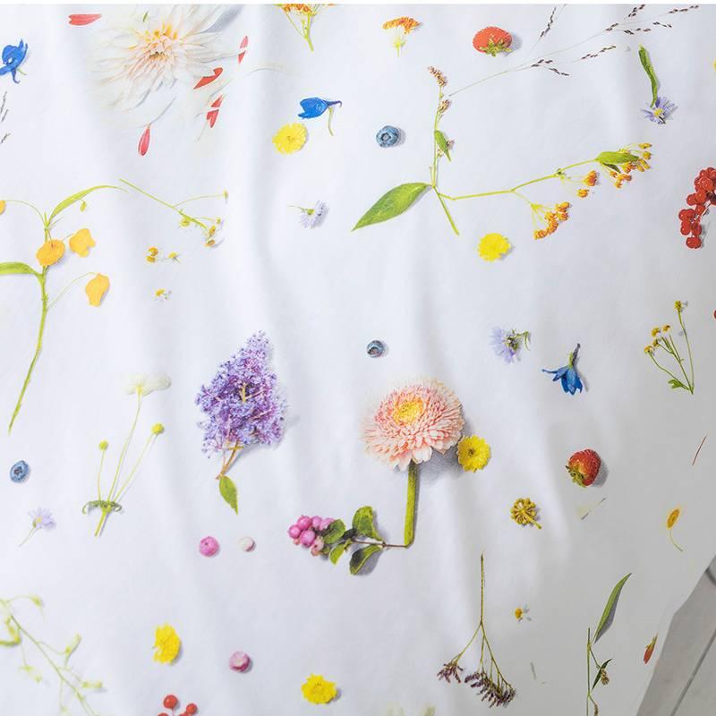 SNURK beddengoed Flower dekbedovertrek 2p