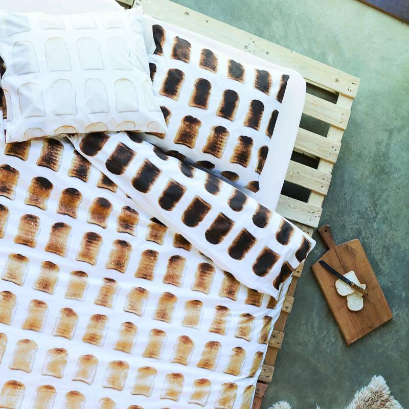 SNURK beddengoed Housse de couette Toast