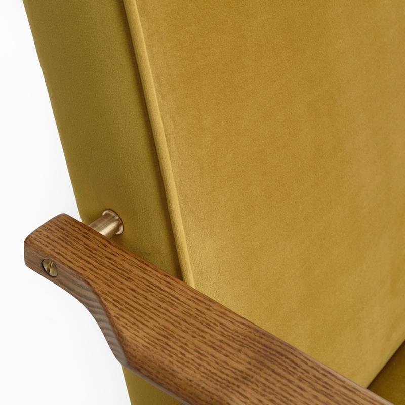 366 Concept Fox Armchair Velvet - Sur les photos vous voyez le chêne foncé!