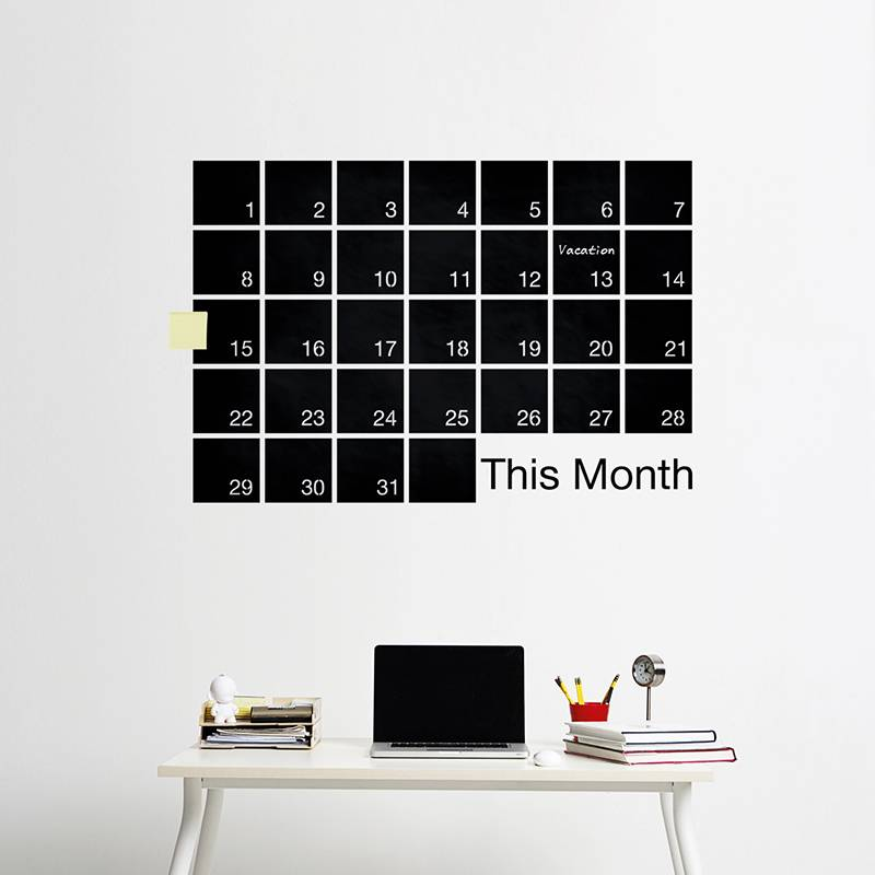 WEEW Design Monthly planner - Mind Wall #M