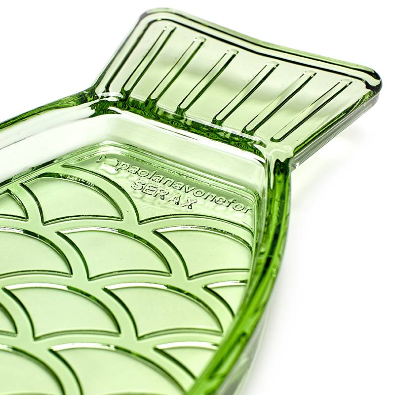 Serax Visschotel S Fish&Fish transparant groen
