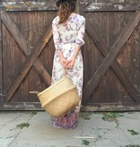 Olli Ella Panier naturel avec poignées en osier