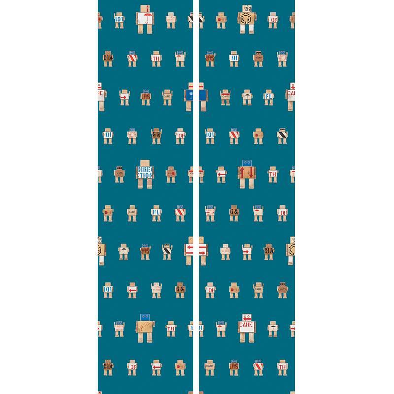 KEK Amsterdam Rijkswachters behang