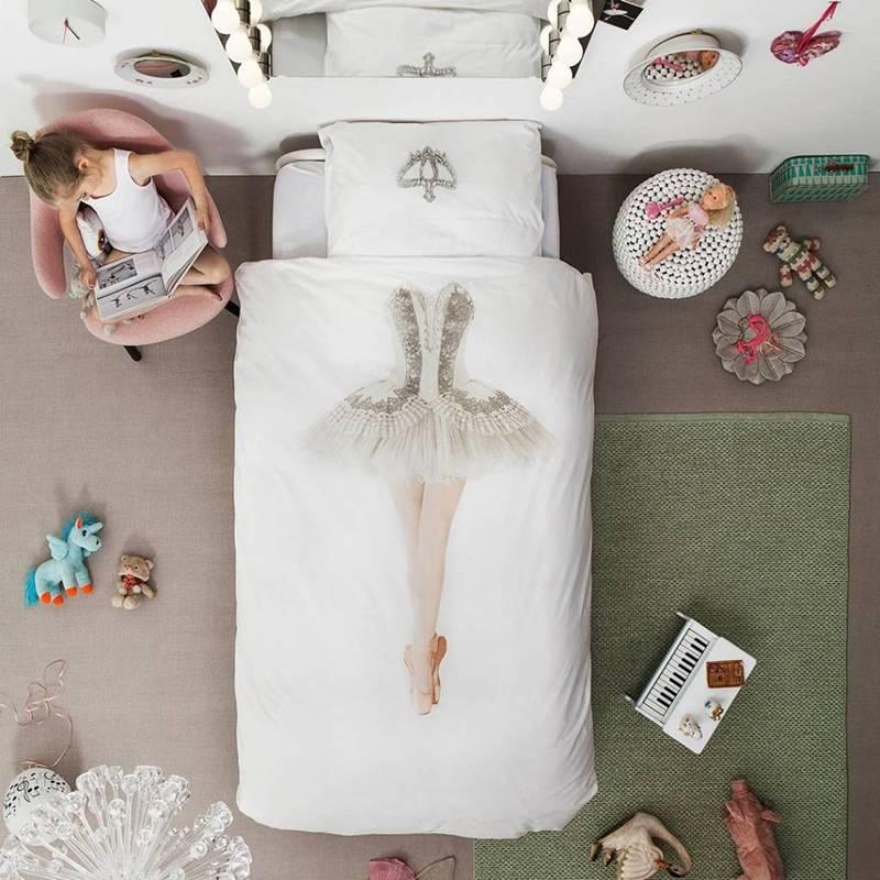 SNURK beddengoed Ballerina dekbedovertrek