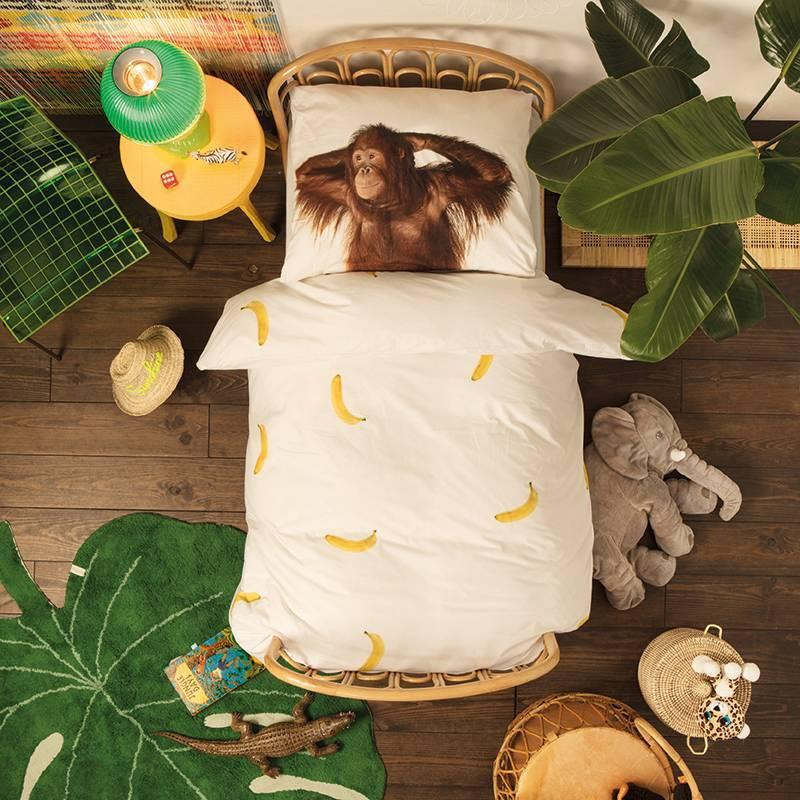 SNURK beddengoed Housse de couette Banana