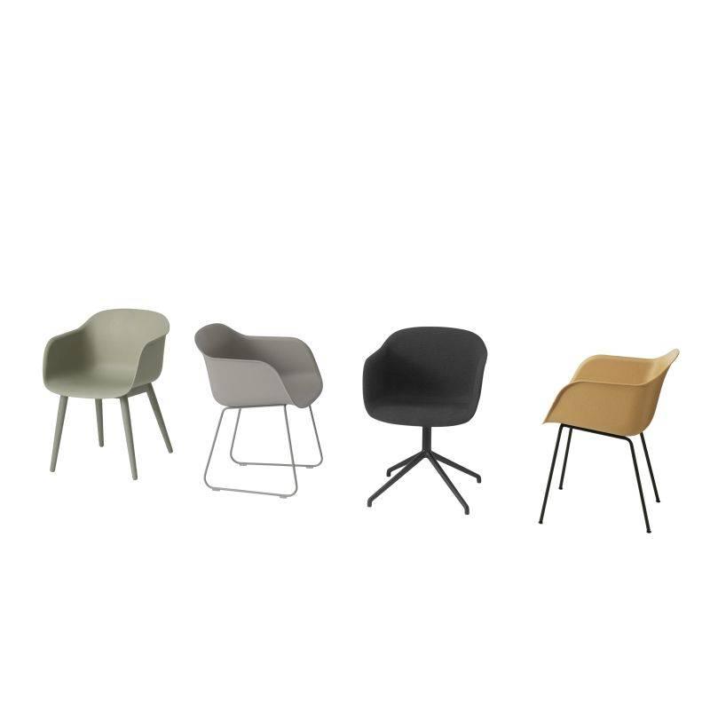 Muuto Fiber Side Chair slede onderstel