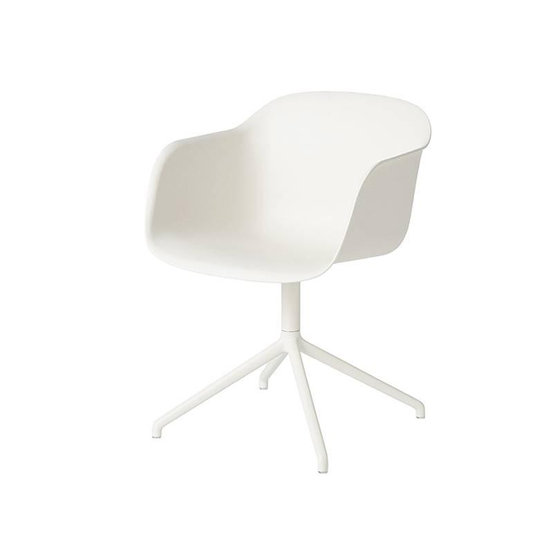 Muuto Fiber Chair dessous pivotant