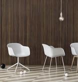 Muuto Fiber Chair draaibaar onderstel