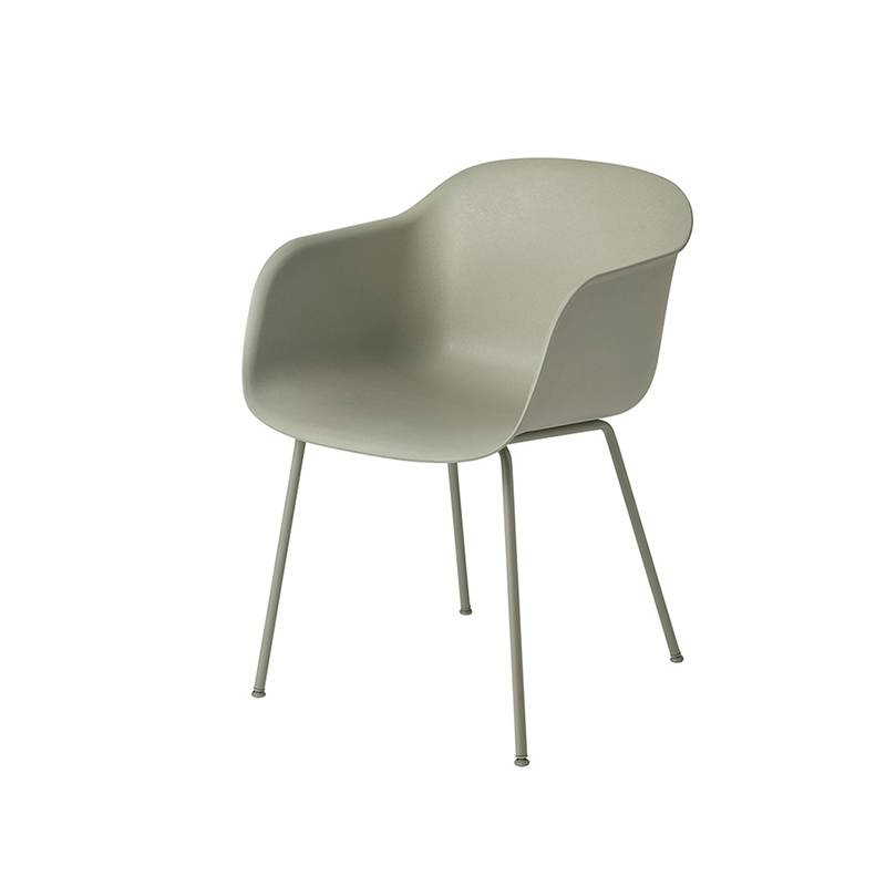 Muuto Fiber Chair pieds tube